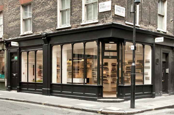 Aesop boutique