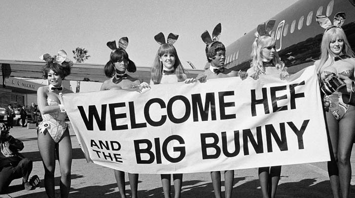 """Big Bunny"", le Playboy Jet par Hugh Hefner"