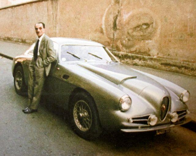 Carlo Mollino Alfa Super Sprint Zagato