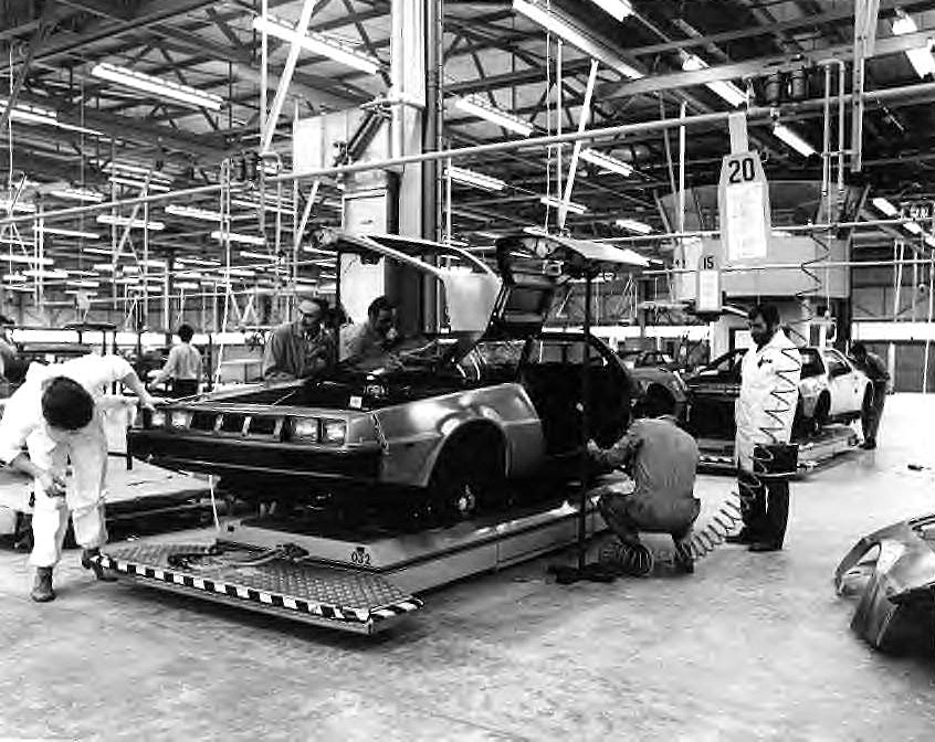 Delorean DMC 12 Usine