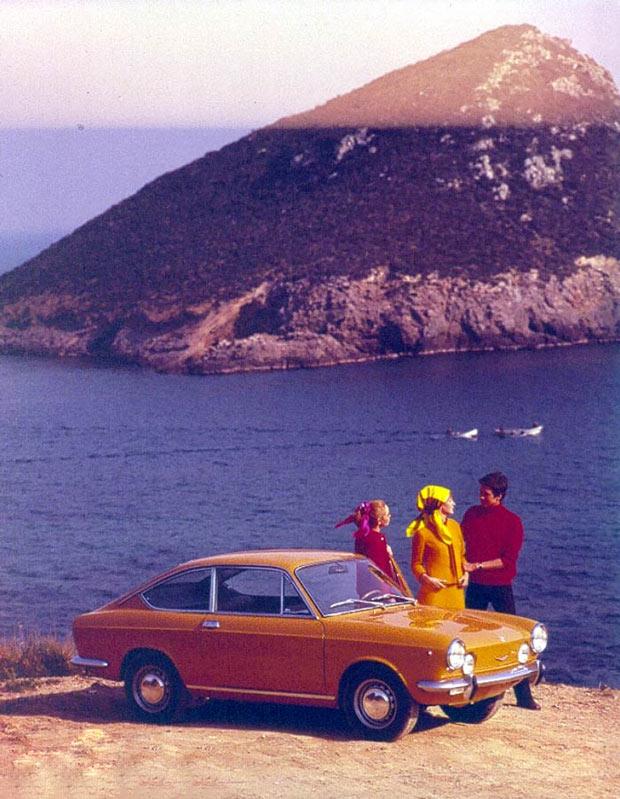 La Fiat 850 coupé  Sport de Loïc Maschi