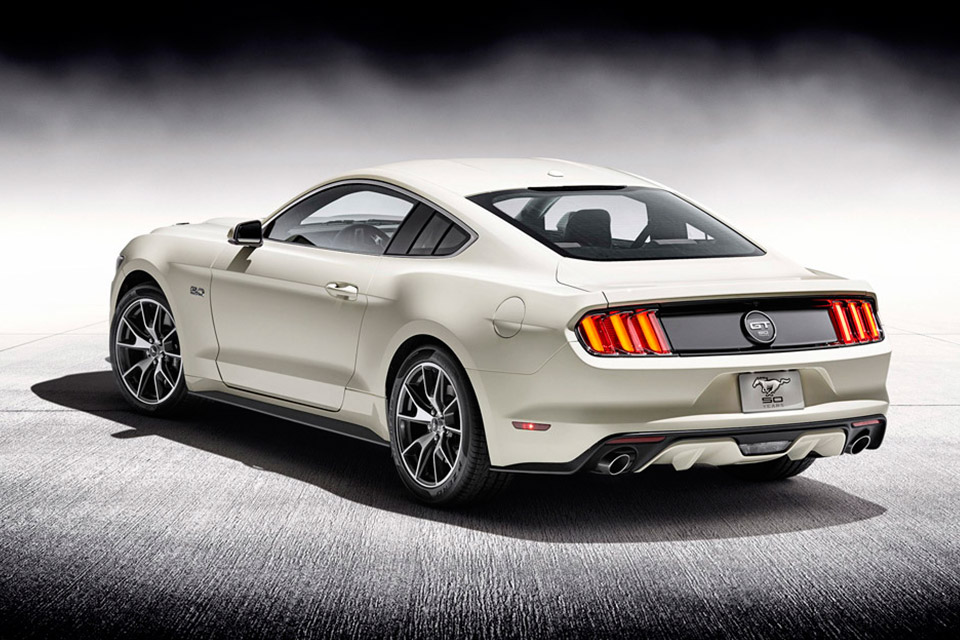 Ford Mustang 50 eme anniversaire