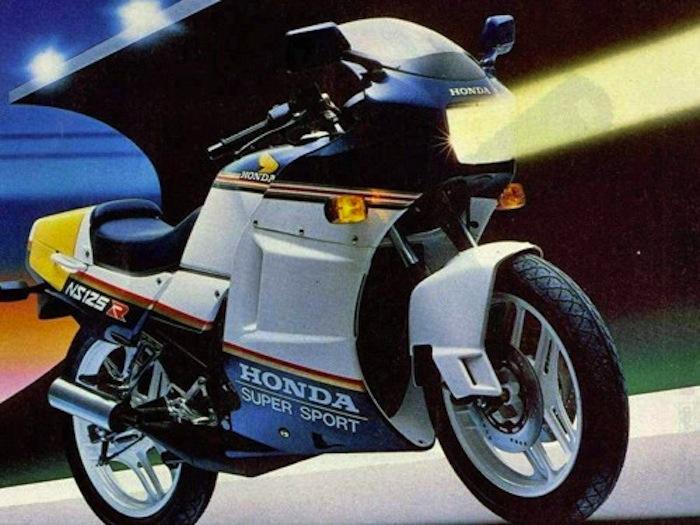 Honda NSR 125 LeCatalog