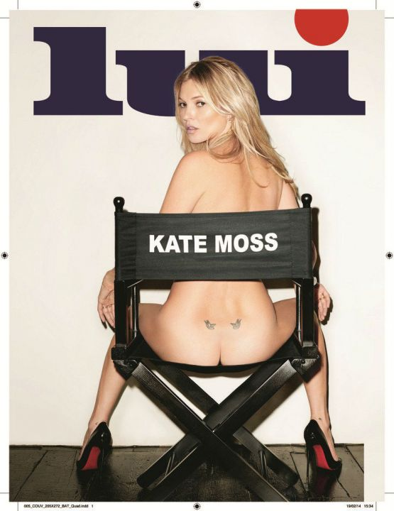 Kate Moss Lui Magazine