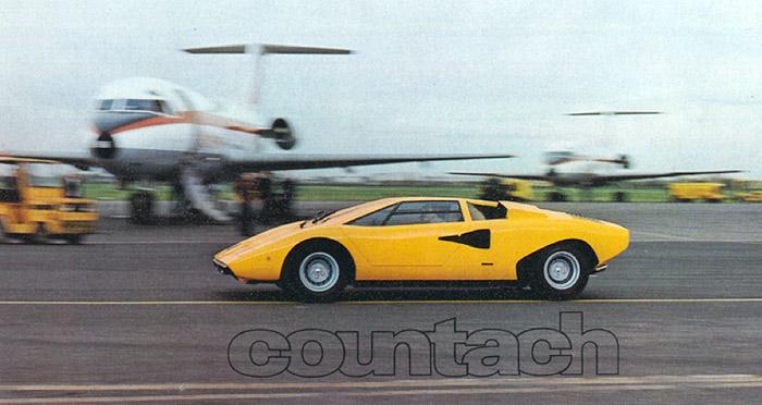 Lamborghini Countach, l'autre super sportive Italienne