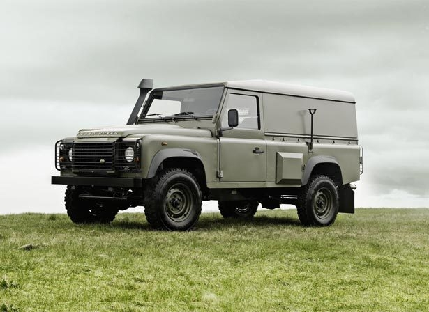 Land Rover Armee Anglaise Wolf