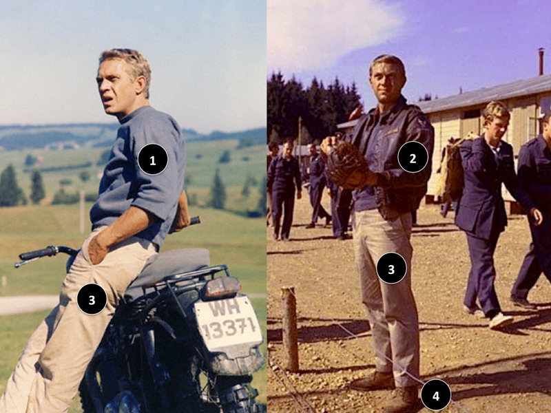 Le Style Steve McQueen La Grande Evasion