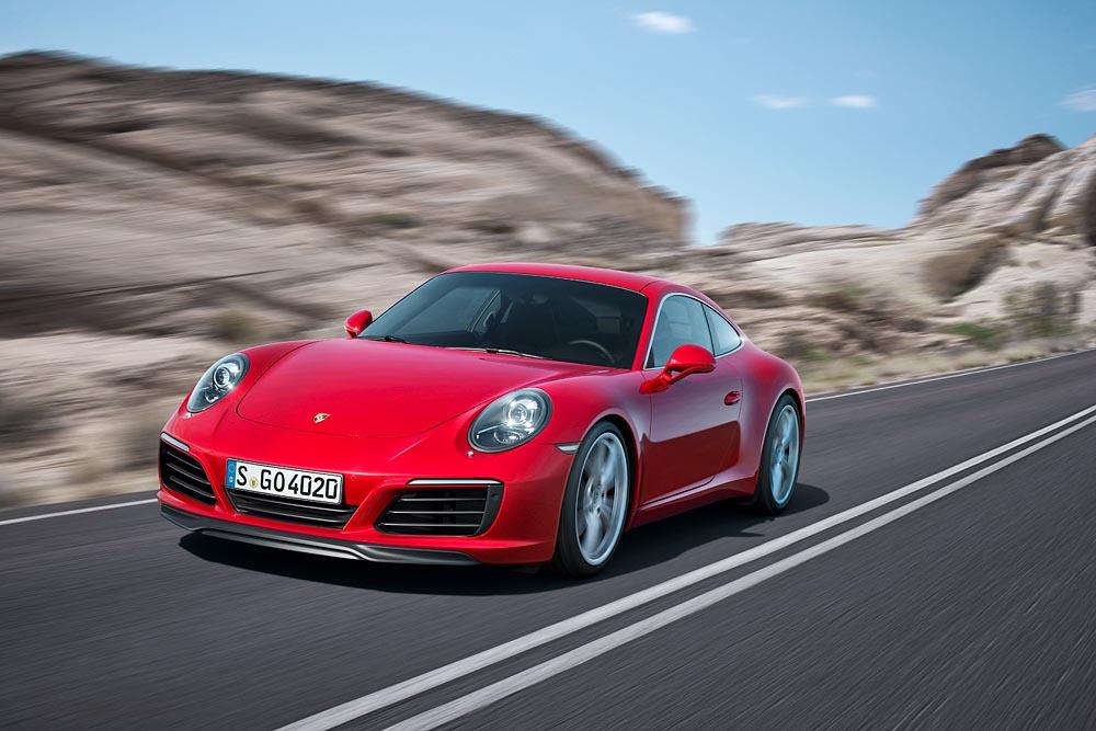 Nouvelle Porsche 911 Carrera