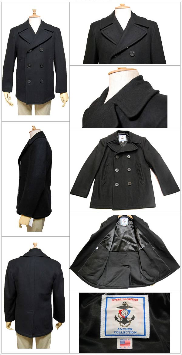 Pea Coat US Navy Sterlingwear