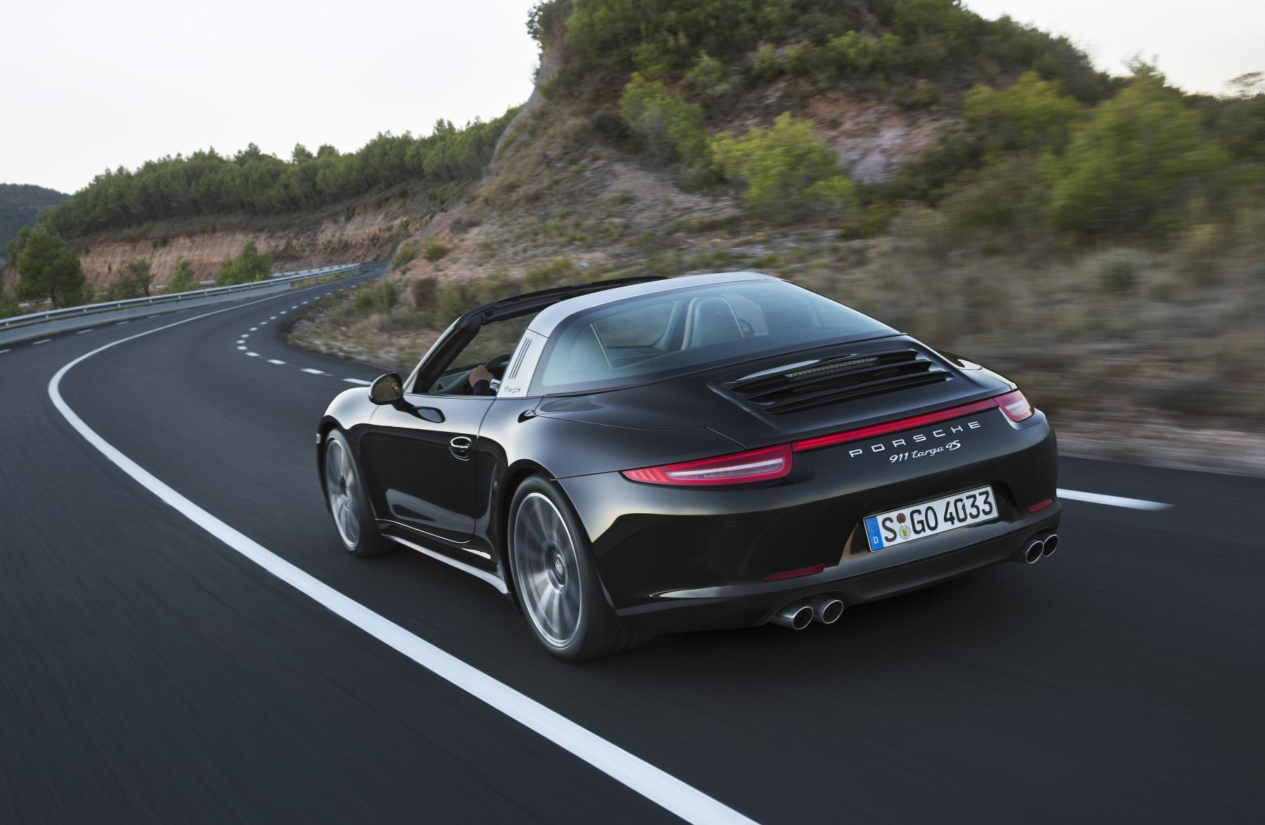 Porsche 911 Targa 2014