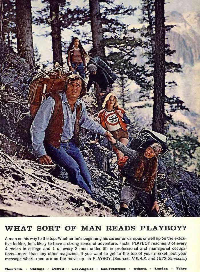 Quel genre d homme lit Playboy Magazine