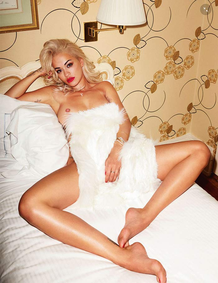 Rita Ora Terry Richardson Lui Magazine