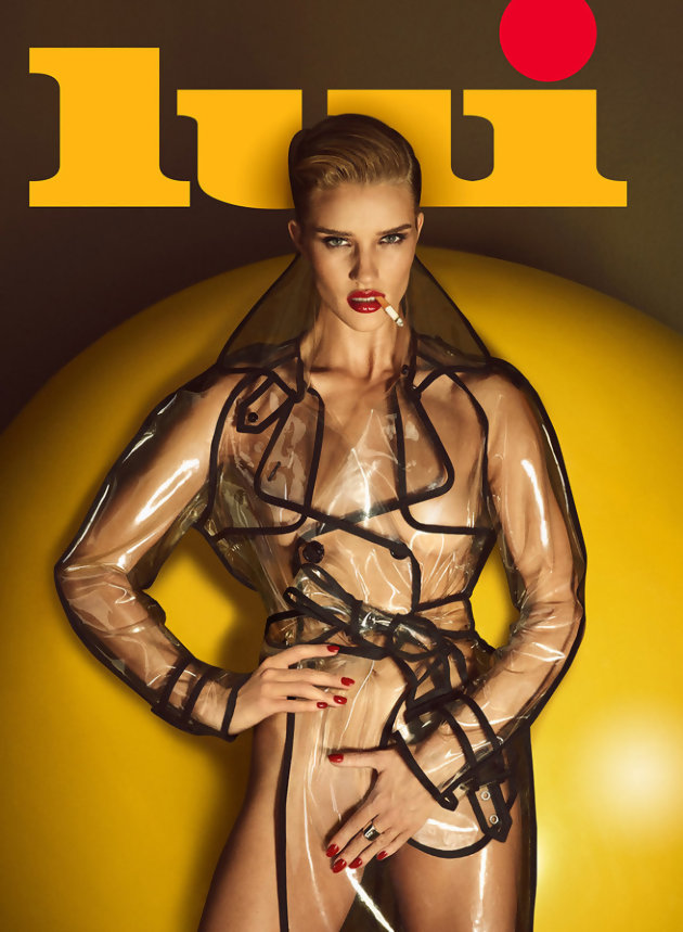 Rosie Huntington Whiteley, Madame Jason Statham magazine Lui