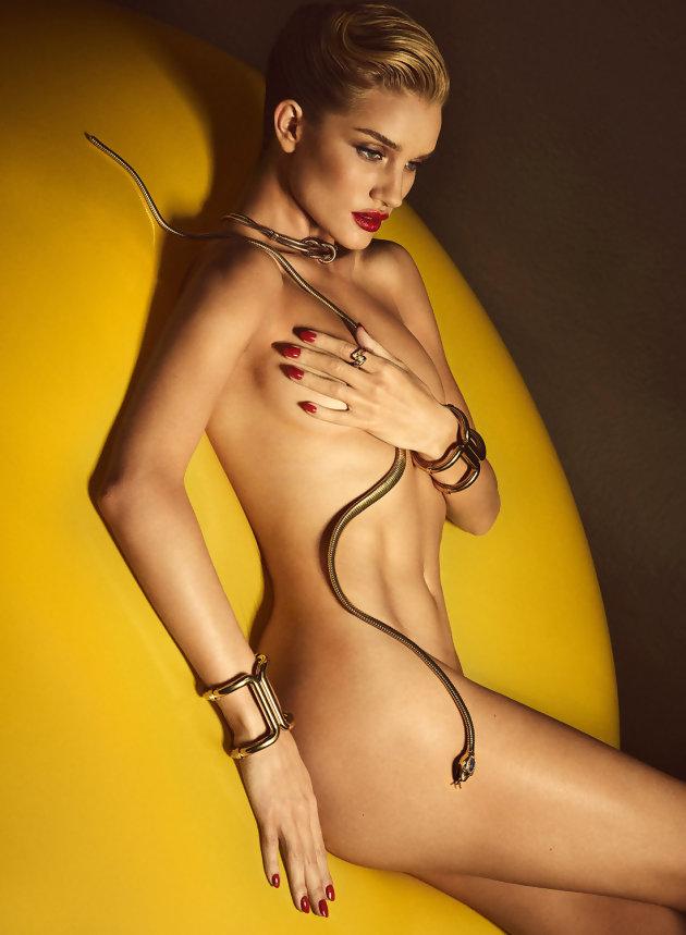 Rosie Huntington Whiteley, Madame Jason Statham magazine Lui