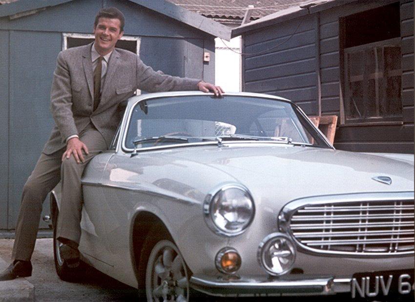 Le Saint Volvo P1800
