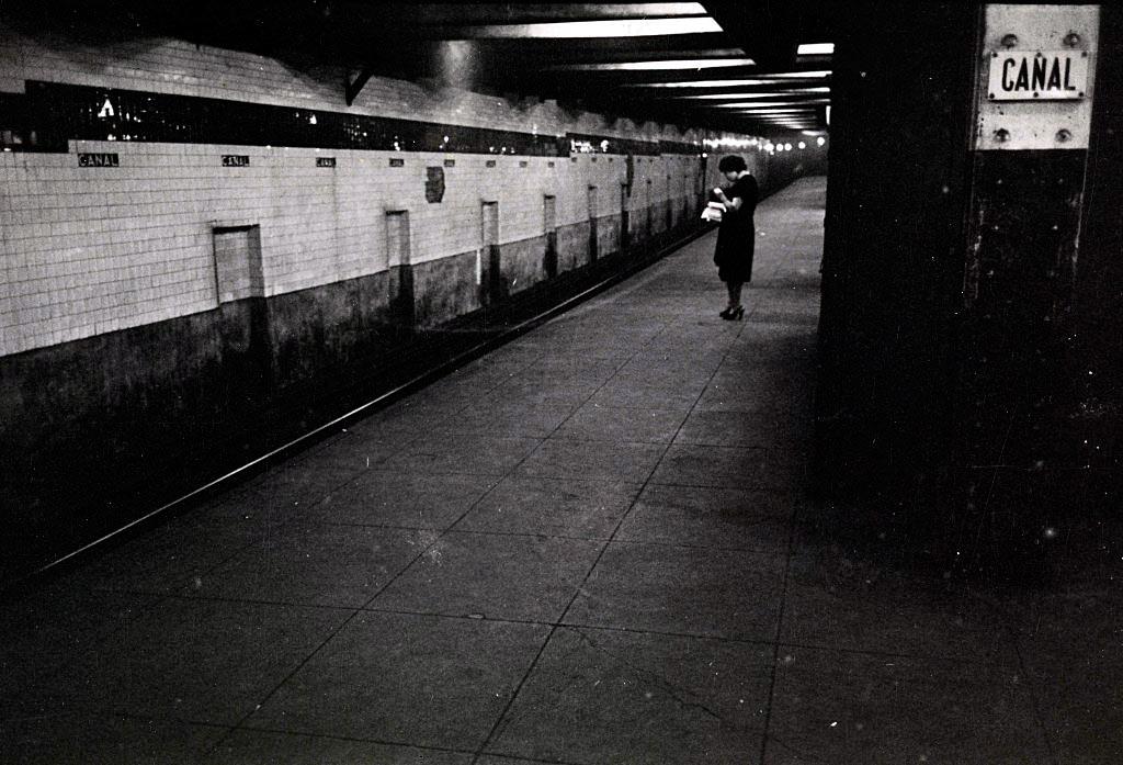 Stanley Kubrick Photographe vintage Metro New York
