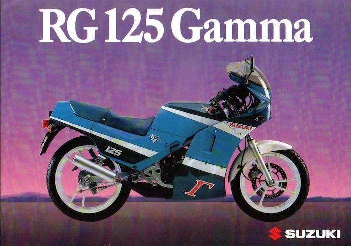 Suzuki 125 RG Gamma