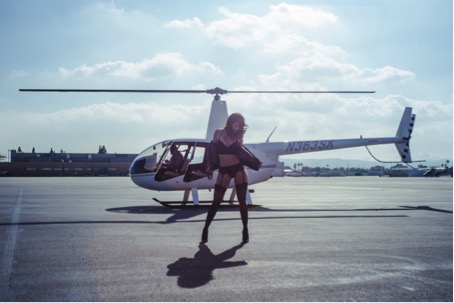 Tania Gregory Helicoptere