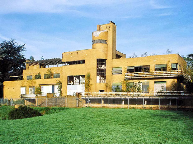 Villa Cavrois squattée