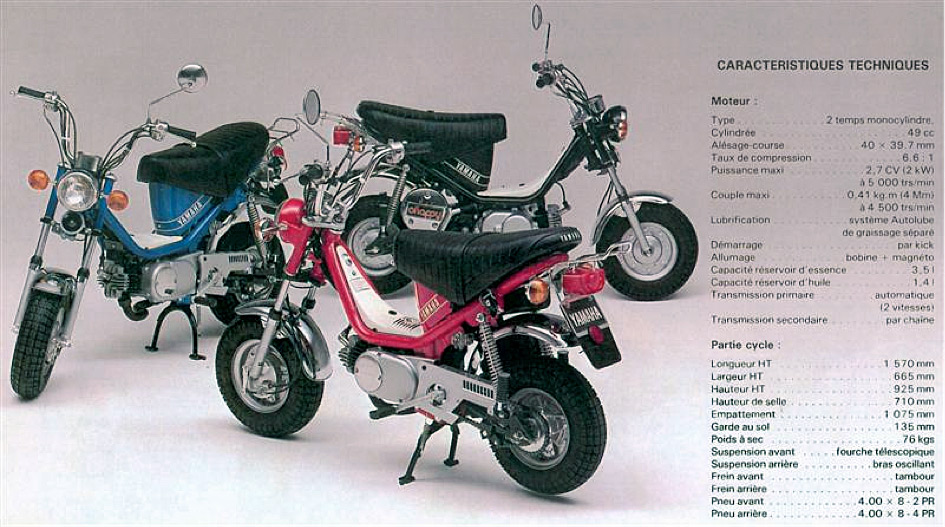 Chappy Yamaha