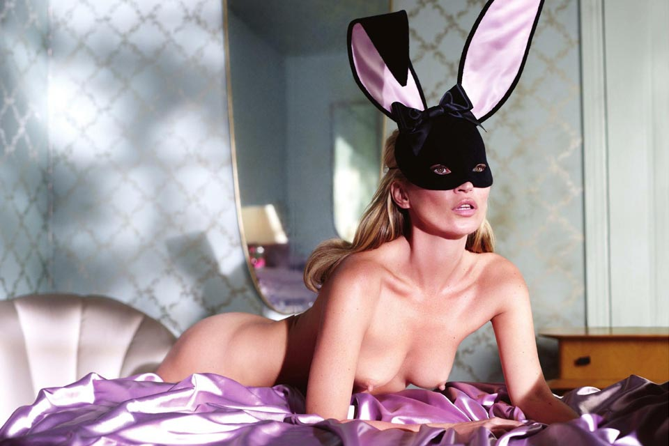 Kate Moss Playboy 60 éme anniversaire