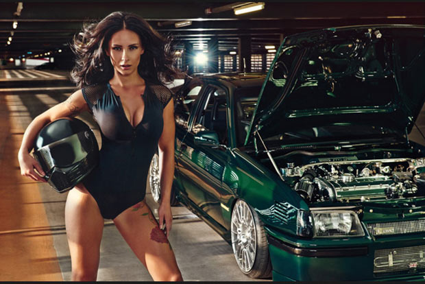 Miss Tunig et le fabuleux calendrier du Tuning World Bodensee